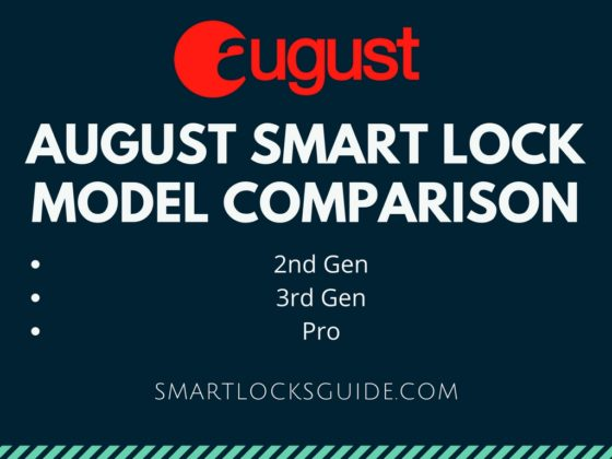 August Smart Lock Model Comparison