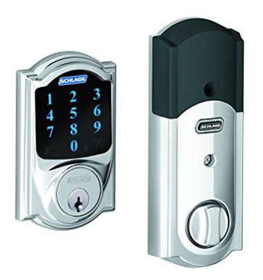 Schalge Connect Camelot Touchscreen Deadbolt BE469 CAM 625