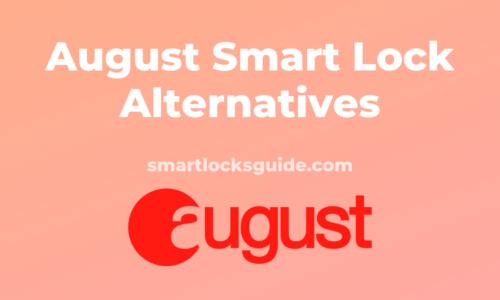 August Smart Lock Alternatives