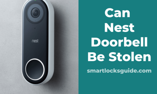 Can Nest Doorbell Be Stolen