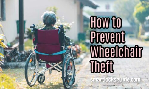 Prevent Wheelchair Theft