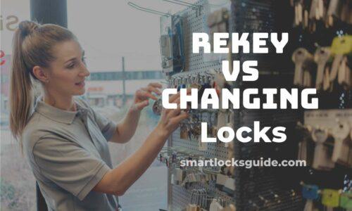 Rekey vs Changing Locks