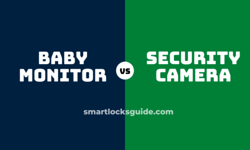 security camera vs baby monitor