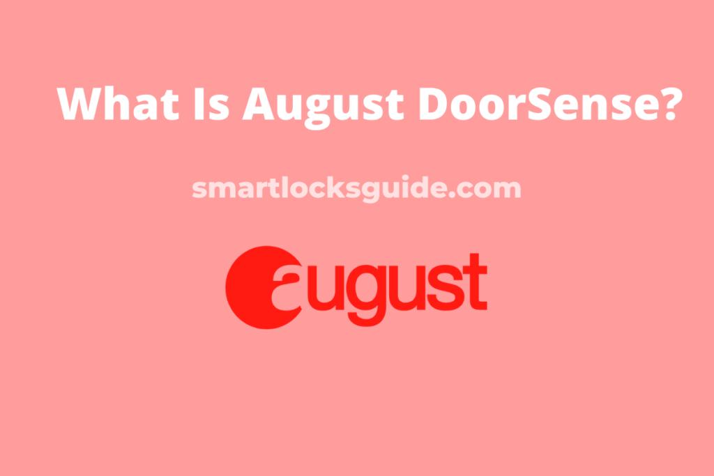 August DoorSense