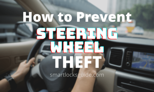 How To Prevent Steering Wheel Theft