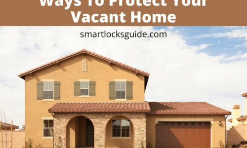protect vacant home