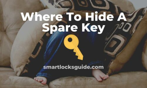 where to hide spare key