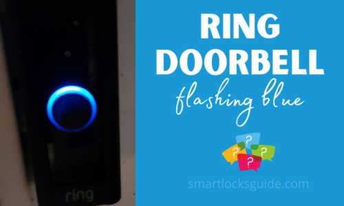 Ring Doorbell Flashing Blue