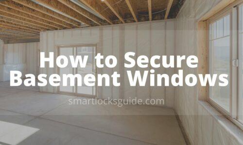 secure basement windows