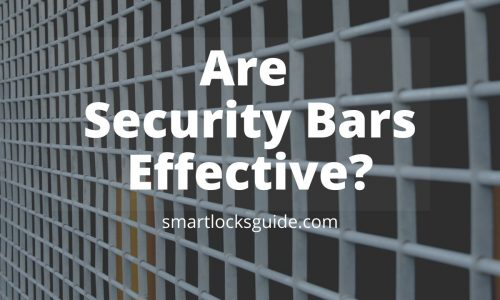 are security bars effective