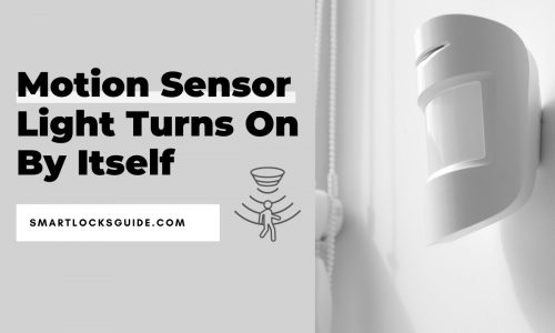 Motion Sensor Light Turns On By Itself