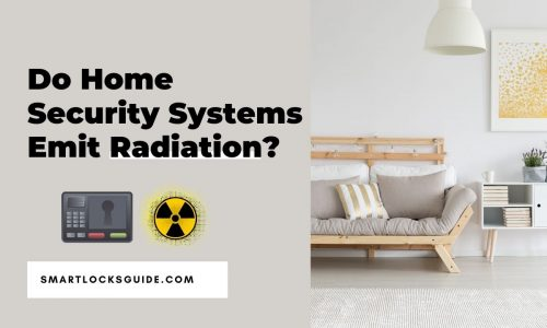 do home security systems emit radiation