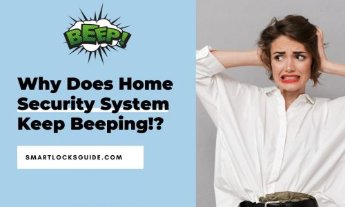 home security system keeps beeping